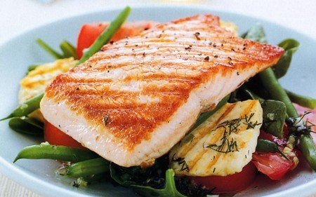Eat Salmon to improve your HDL Cholesterol levels