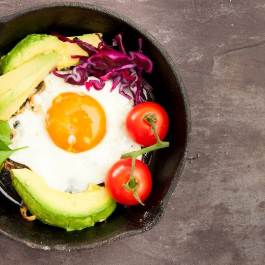 eggs won't raise your cholesterol and avocados are a great source of healthy fat