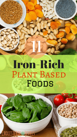 11 Iron Rich plant based foods