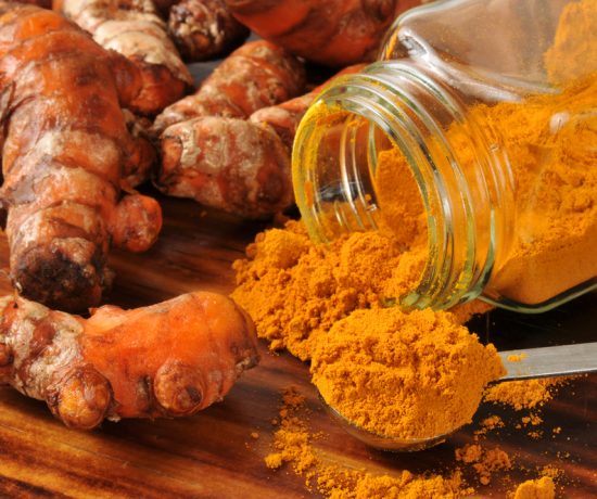 Turmeric powder lowers cholesterol and decreases inflammation