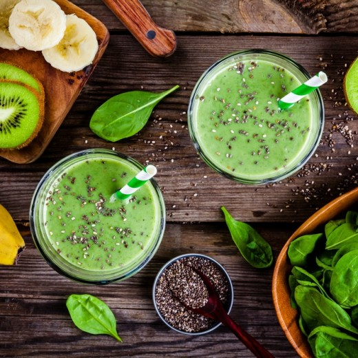 nutritional benefits of green smoothies